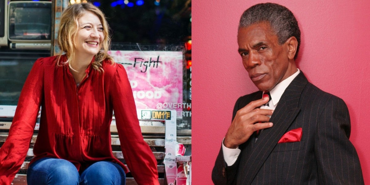 Photo credit: André De Shields and Heidi Schreck (Photos courtesy of IBDB)