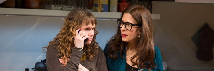 Sally Murphy & Jessica Hecht in Admissions