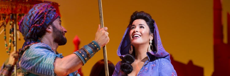 Courtney Reed in Disney's Aladdin
