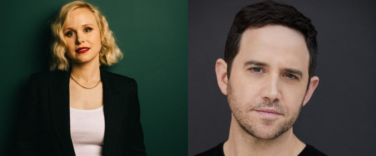 Alison Pill and Santino Fontana