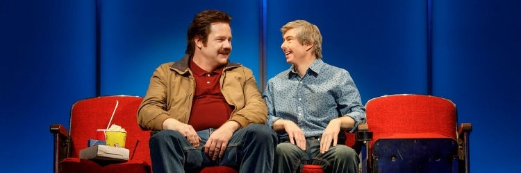 Josh McDermitt & Edward Barbanell in Andy and the Orphans