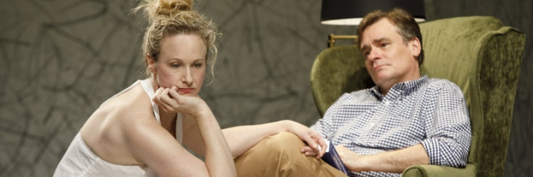 Katie Finneran & Robert Sean Leonard in Edward Albee's At Home at the Zoo: Homelife & The Zoo Story
