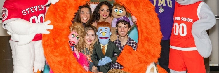 The new Off-Broadway cast of Avenue Q