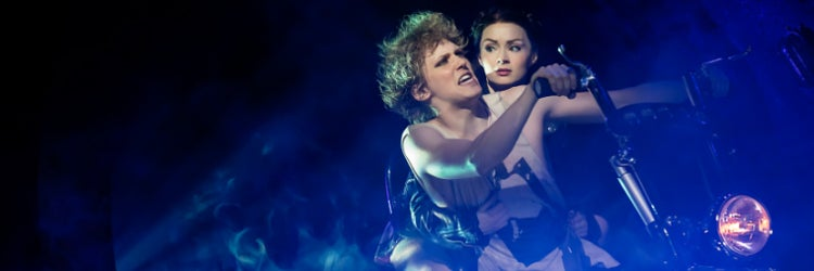 Andrew Polec & Christina Bennington in Bat Out of Hell: The Musical