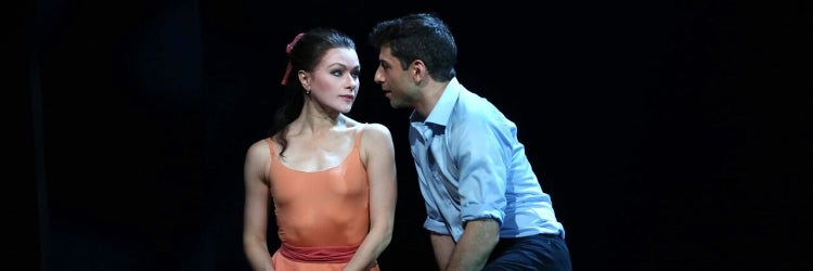 Irina Dvorovenko & Tony Yazbeck in The Beast in the Jungle