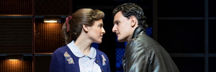 Sarah Bockel & Cory Jeacoma in Beautiful: The Carole King Musical
