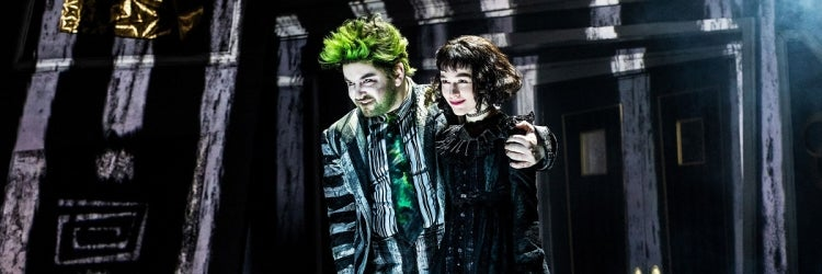 Alex Brightman & Sophia Anne Caruso in Beetlejuice