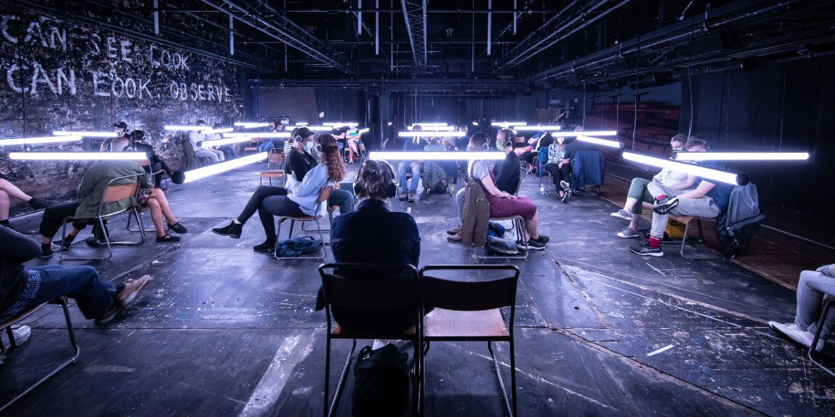 Blindness at the Donmar Warehouse (Photo by Helen Maybanks)