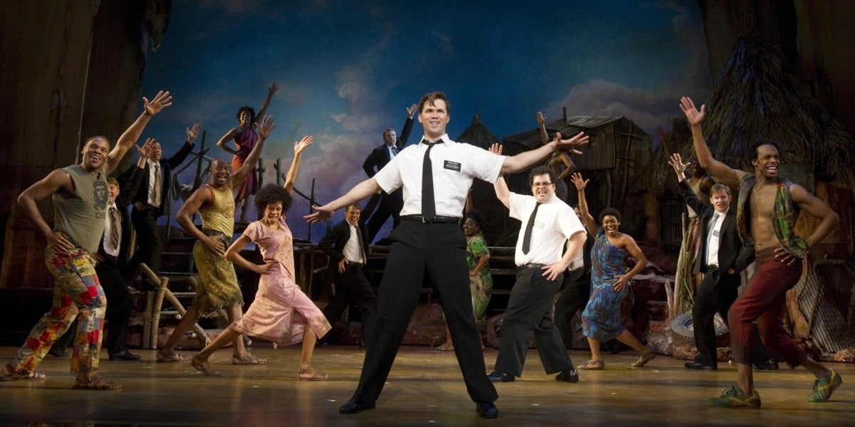 Andrew Rannells and the Cast of The Book of Mormon