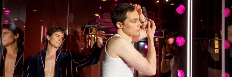 Matt Bomer & Jim Parsons in The Boys in the Band