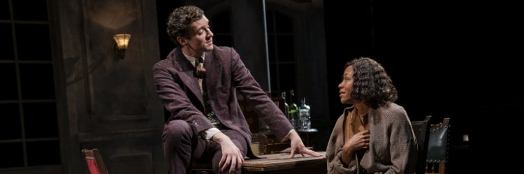 Michael Urie & Nikki M. James in A Bright Room Called Day