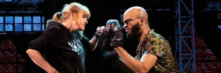 Annie Golden and Jared Joseph in Broadway Bounty Hunter