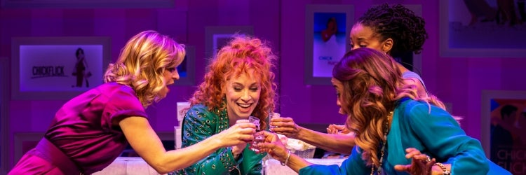 Megan Sikora, Lindsay Nicole Chambers, Carla Duren & Sharon Catherine Brown in Chick Flick the Musical