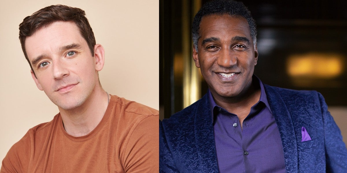 Photo credit: Michael Urie and Norm Lewis (Photos by Jenny Anderson and Peter Hurley respectively)