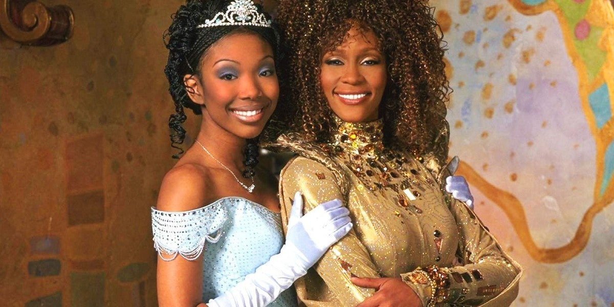 Photo credit: Brandy and Whitney Houston (Photo by Neal Preston and ABC)