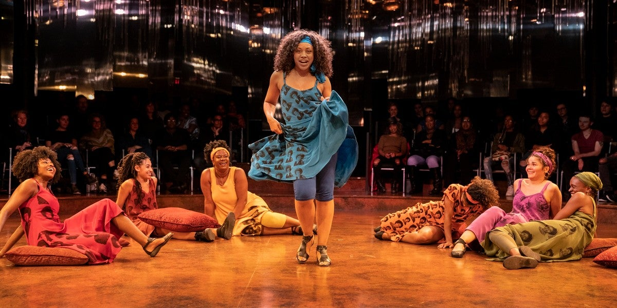 Photo credit: For Colored Girls Who Have Considered Suicide/When the Rainbow Is Enuf At the Public Theater in 2019 (Photos by Joan Marcus)