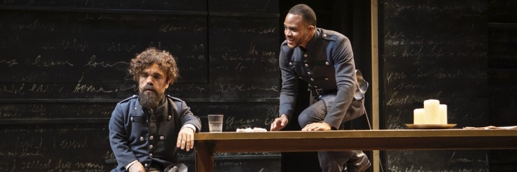 Peter Dinklage & Josh A. Dawson in Cyrano