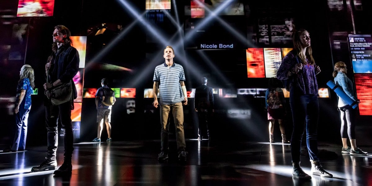 Photo credit: Cast of Dear Evan Hansen (Photo by Matthew Murphy)