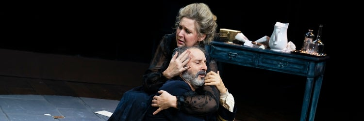 Cassie Beck & Richard Topol in The Dance of Death