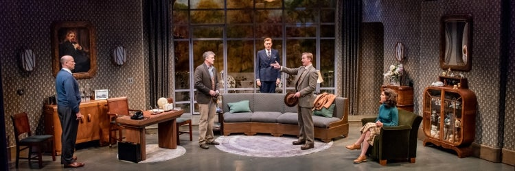 The Cast of Lillian Hellman's Days to Come