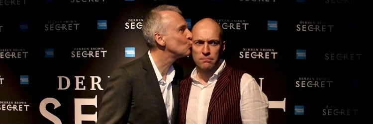 Co-Writer/Co-Director Andrew O'Connor with Derren Brown