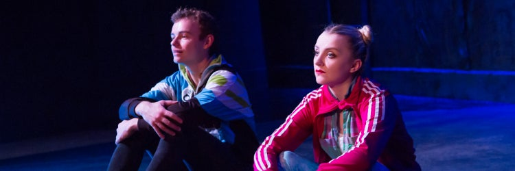 Colin Campbell & Evanna Lynch in Disco Pigs
