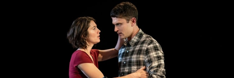 Mary Elizabeth Winstead & Colin Woodell in Dying City
