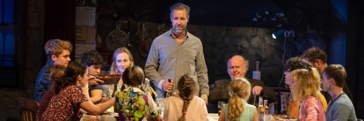 Paddy Considine and the company of The Ferryman
