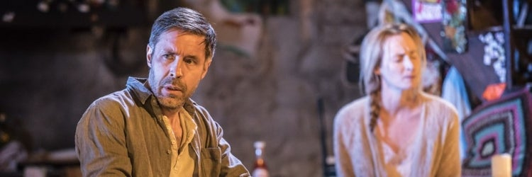 Paddy Considine & Genevieve O'Reilly in The Ferryman