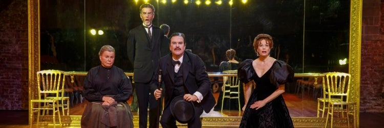 Marsha Mason, John Glover, Douglas Hodge & Marin Mazzie in Fire and Air