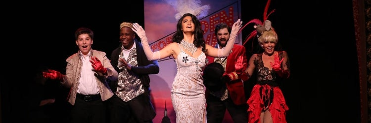 The Cast of Forbidden Broadway: The Next Generation