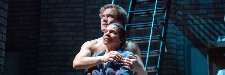 Michael Shannon & Audra McDonald in Frankie and Johnny in the Clair de Lune