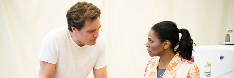 Michael Shannon & Audra McDonald in rehearsal for Frankie and Johnny in the Clair de Lune