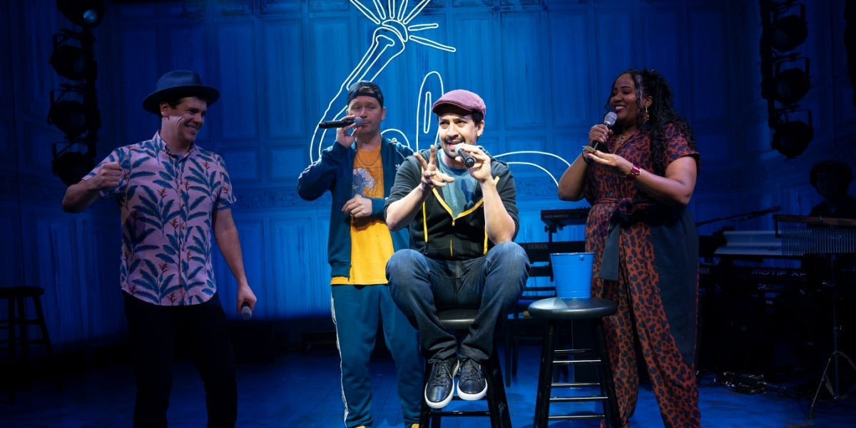 The Broadway Cast of freestyle love supreme