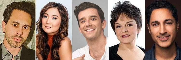 Thomas Sadoski, Ashley Park, Michael Urie, Priscilla Lopez & Maulik Pancholy