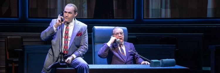 Marc Kudisch & Brian Cox in The Great Society