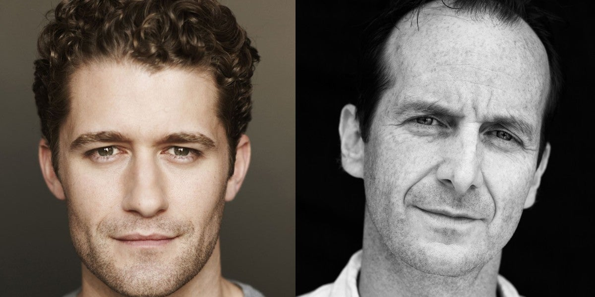 Photo credit: Matthew Morrison and Denis O'Hare (Photos courtesy of IBDB/IMDB respectively)