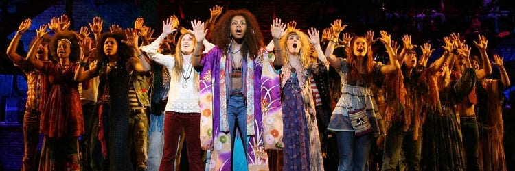 The Company of Diane Paulus' 2009 Broadway Revival of Hair