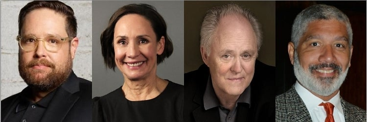 Zak Orth, Laurie Metcalf, John Lithgow & Peter Francis James