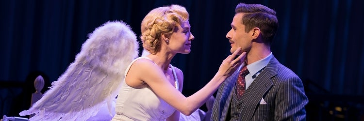 Sara Mearns & Mark Evans in I Married an Angel