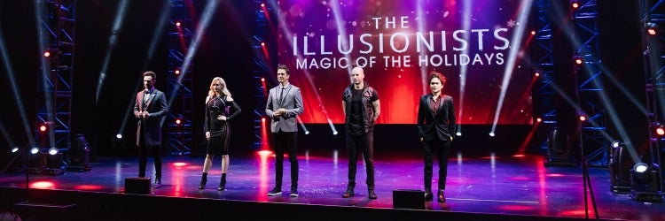 The Cast of The Illusionists: Magic Of The Holidays