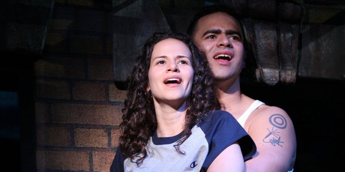 Mandy Gonzalez & Christopher Jackson in In the Heights