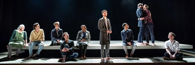 The West End cast of The Inheritance