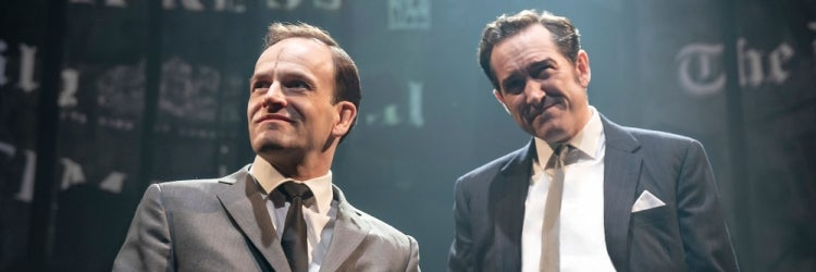 Jonny Lee Miller & Bertie Carvel in Ink