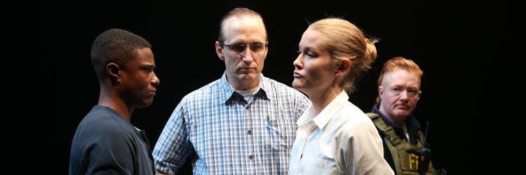 Pete Simpson, TL Thompson, Emily C. Davis, Becca Blackwell in Is This A Room