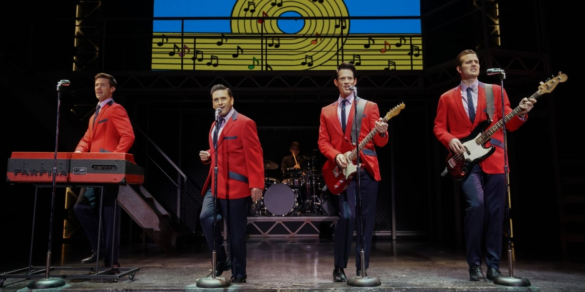 The Off-Broadway Cast of Jersey Boys