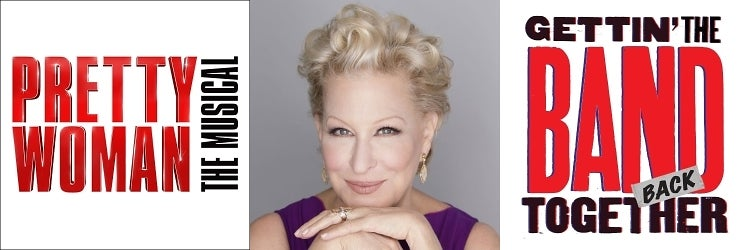 Pretty Woman, Bette Midler & Gettin' the Band Back Together