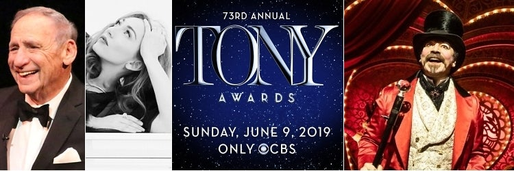 Mel Brooks, Regina Spektor, The 73rd Annual Tony Awards and Moulin Rouge! The Musical