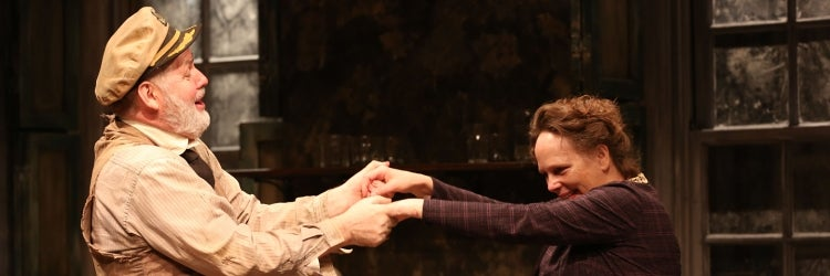 Ciarán O'Reilly & Maryann Plunkett in Juno and the Paycock