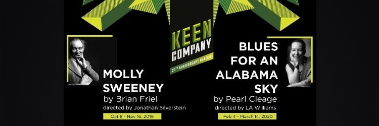 Keen Company's 2019-2020 Off-Broadway Season